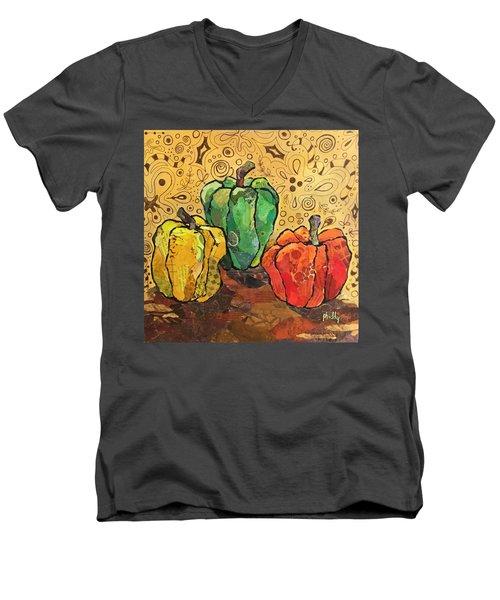 Pick A Peck Men's V-Neck T-Shirt