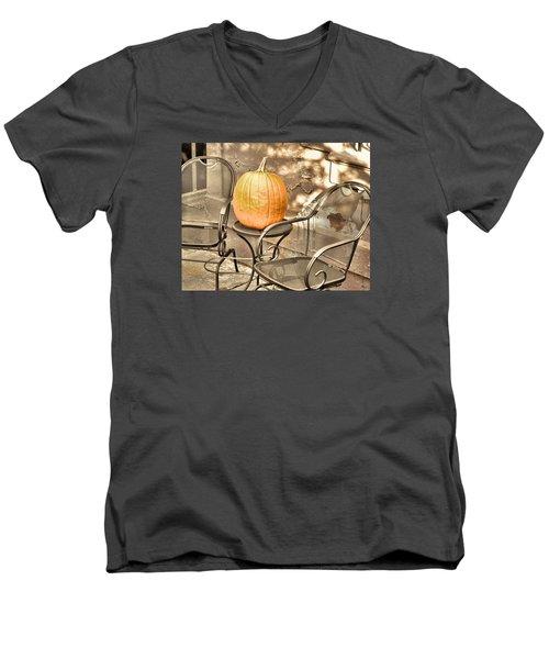 Pick A Pumpkin Men's V-Neck T-Shirt by JAMART Photography