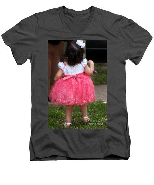 Pick Me Up Men's V-Neck T-Shirt