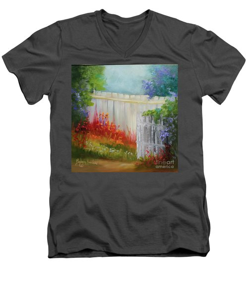 Picket Fences Men's V-Neck T-Shirt