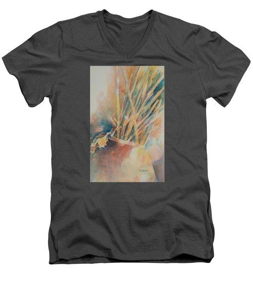 Pickup Sticks Men's V-Neck T-Shirt by Lee Beuther