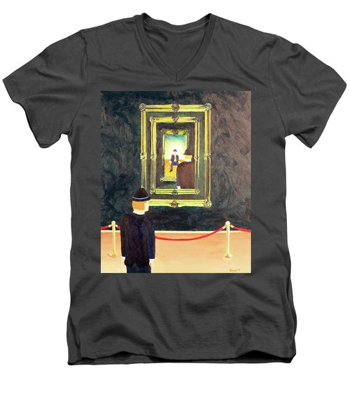 Pictures At An Exhibition Men's V-Neck T-Shirt