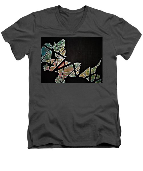 Pieces Men's V-Neck T-Shirt