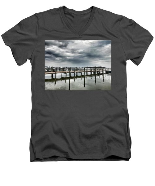 Pier Pressure Men's V-Neck T-Shirt