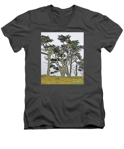 Pierce Pt. Study Men's V-Neck T-Shirt