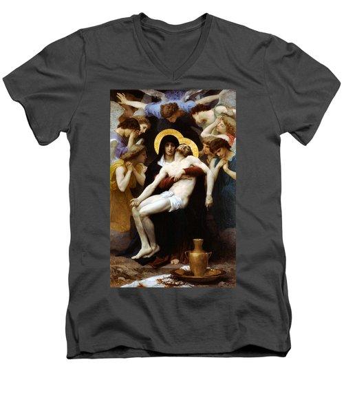 Pieta 1876 Men's V-Neck T-Shirt