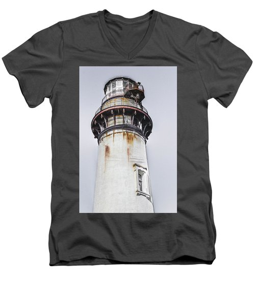 Pigeon Point Light Station Men's V-Neck T-Shirt