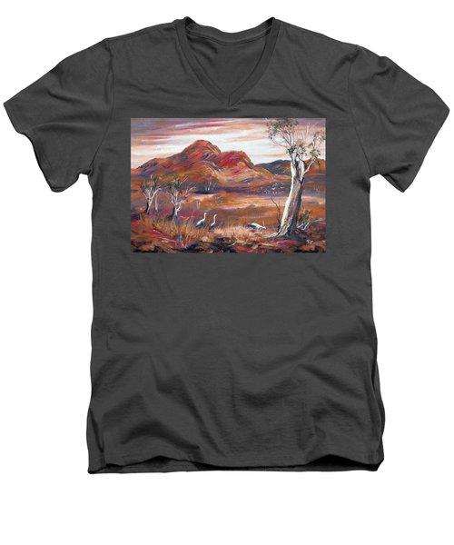 Pilbara, Outback, Western Australia, Men's V-Neck T-Shirt