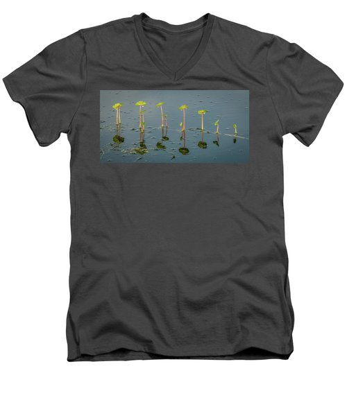 Pillars Of Life Men's V-Neck T-Shirt
