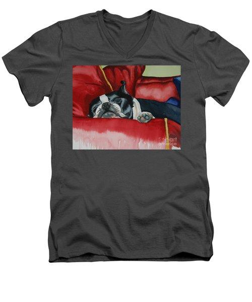 Pillow Pup Men's V-Neck T-Shirt