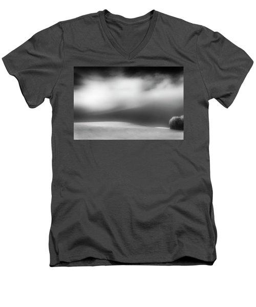 Men's V-Neck T-Shirt featuring the photograph Pillow Soft by Dan Jurak