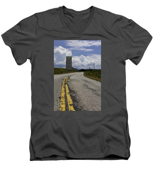 Pillsbury Elevator Men's V-Neck T-Shirt