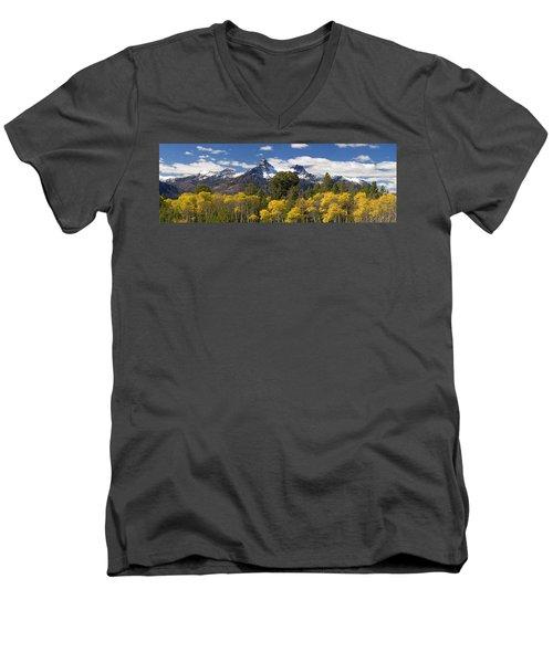 Pilot And Index Men's V-Neck T-Shirt