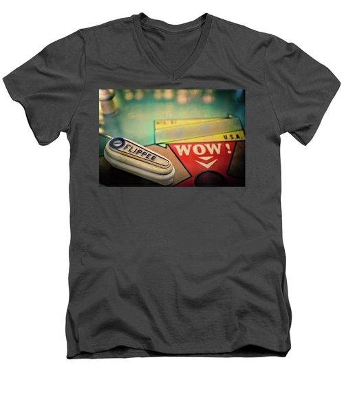 Pinball - Flipper Men's V-Neck T-Shirt