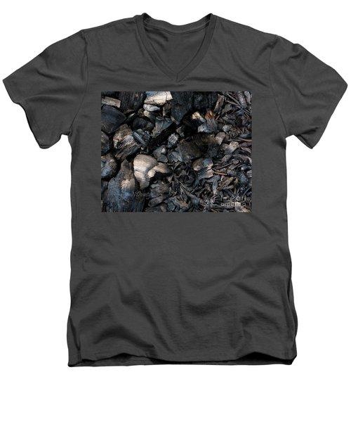 Pine Cone Cinders Men's V-Neck T-Shirt