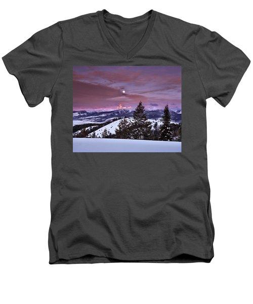 Pine Creek Pass Men's V-Neck T-Shirt