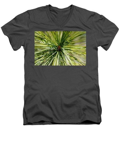 Pine Needles Men's V-Neck T-Shirt
