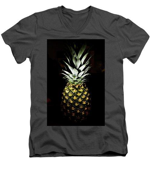 Pineapple In Shine Men's V-Neck T-Shirt