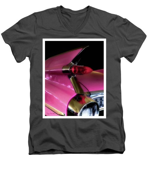 Pink Cadillac Men's V-Neck T-Shirt