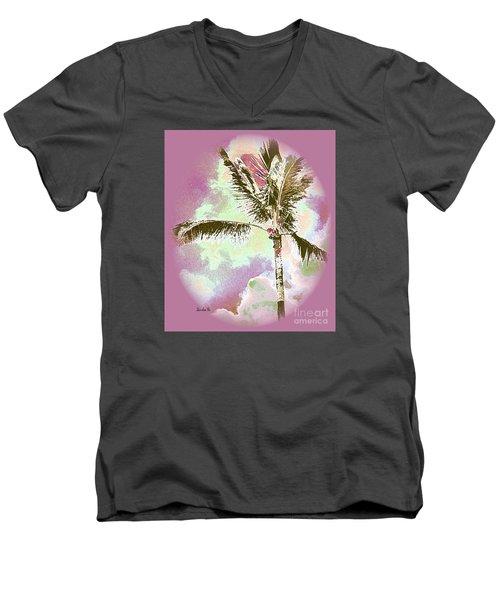 Pink Skies Men's V-Neck T-Shirt