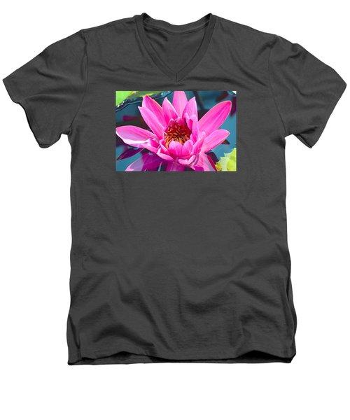 Pink Wonder Men's V-Neck T-Shirt