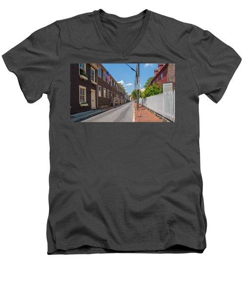 Pinkney Street Men's V-Neck T-Shirt