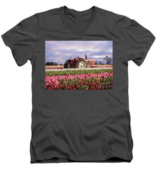 Pinky Jd Men's V-Neck T-Shirt