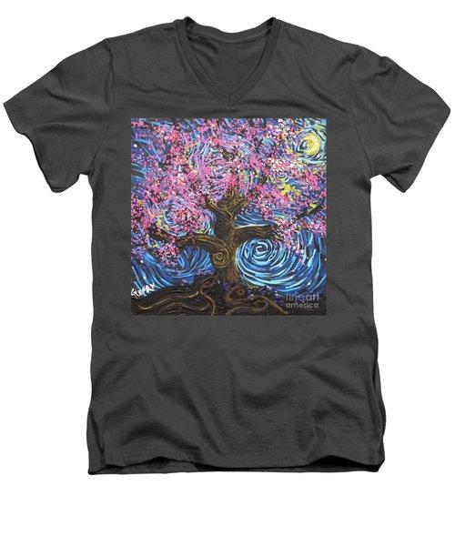 Pinky Tree Men's V-Neck T-Shirt