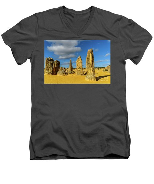 Pinnacles 6 Men's V-Neck T-Shirt
