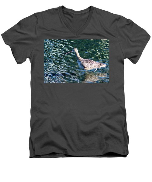 Piper Profile Men's V-Neck T-Shirt