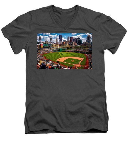 Pirates Day Game Men's V-Neck T-Shirt