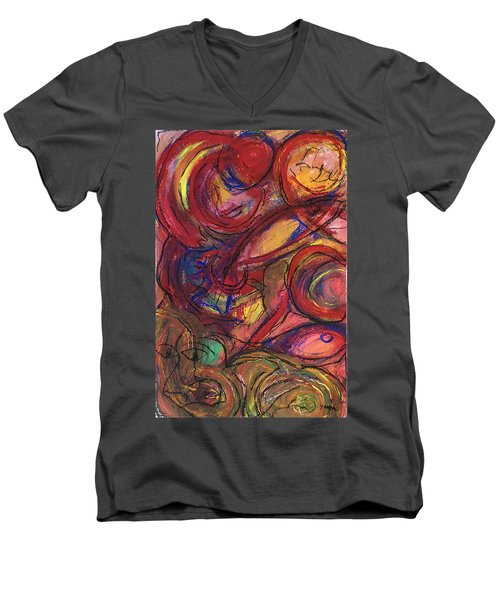 Pisces Symbalic Men's V-Neck T-Shirt