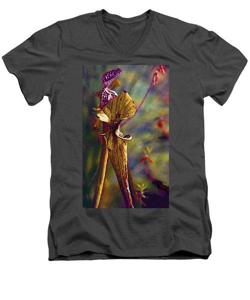 Pitcher Plant Men's V-Neck T-Shirt