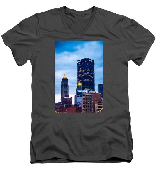 Pittsburgh - 7012 Men's V-Neck T-Shirt