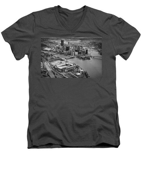 Pittsburgh 9 Men's V-Neck T-Shirt