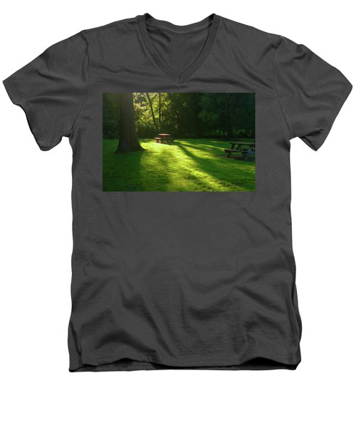 Place Of Honor Men's V-Neck T-Shirt