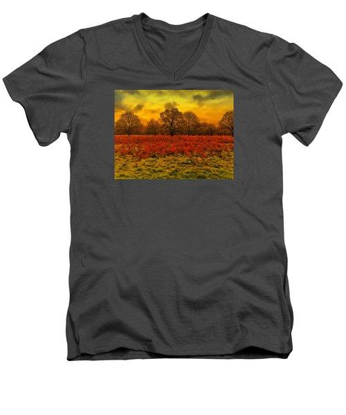 Plain And Simple Men's V-Neck T-Shirt