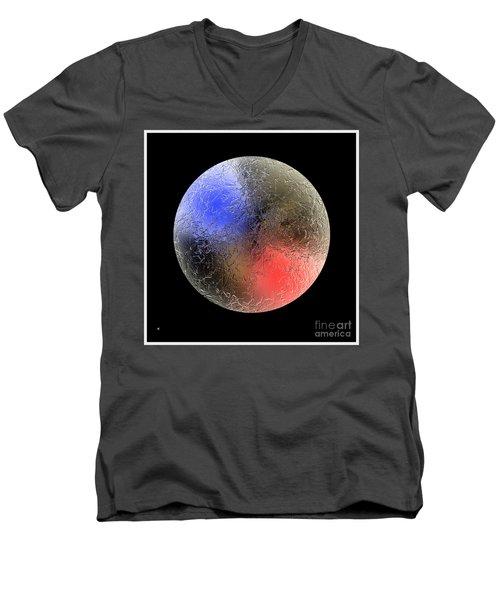 Planet 12 Men's V-Neck T-Shirt by John Krakora