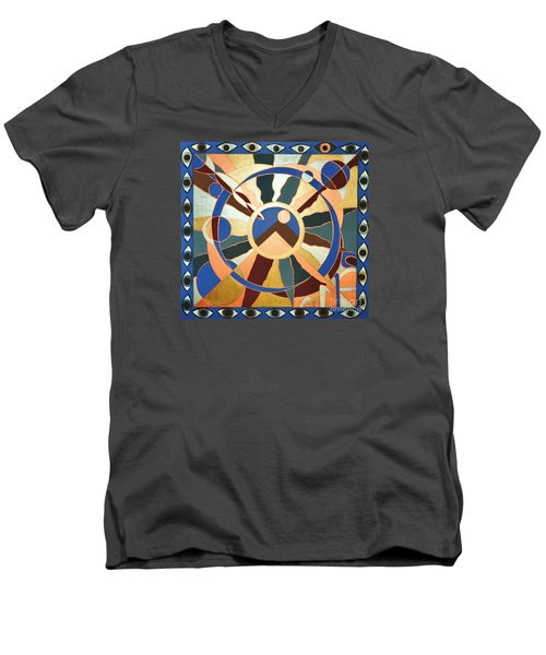 Planet Earth Raw  All Eyes Upon Her Men's V-Neck T-Shirt