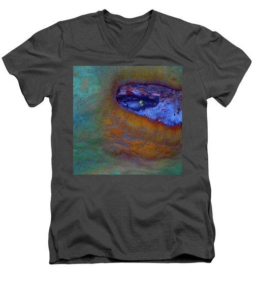 Planet Earth Men's V-Neck T-Shirt