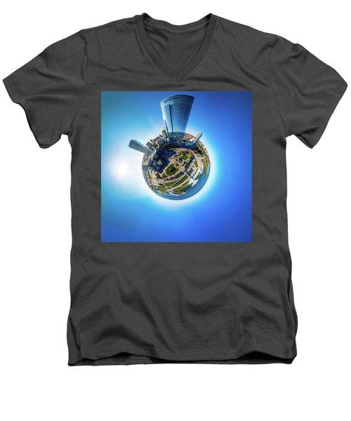 Planet Milwaukee Men's V-Neck T-Shirt