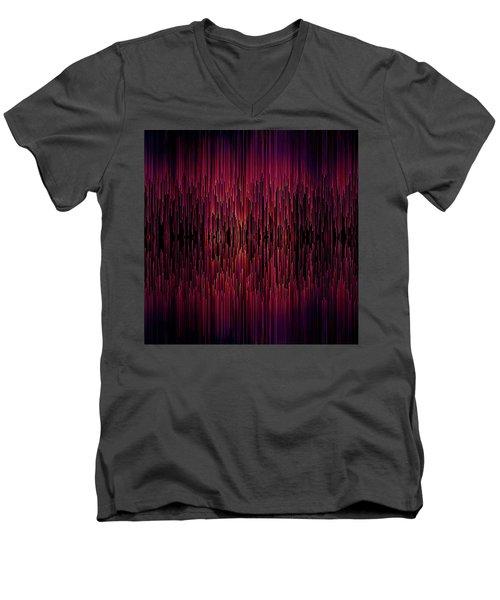 Planet Pixel Carnival Dreams Men's V-Neck T-Shirt