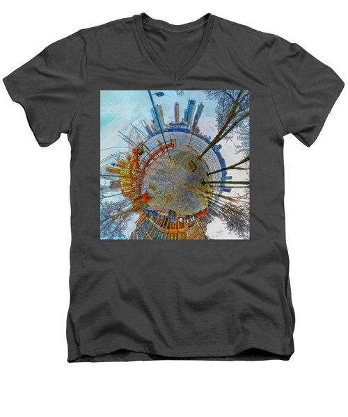 Planet Rotterdam Men's V-Neck T-Shirt