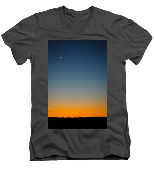 Planet Sunrise Men's V-Neck T-Shirt