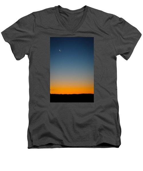 Planet Sunrise Men's V-Neck T-Shirt