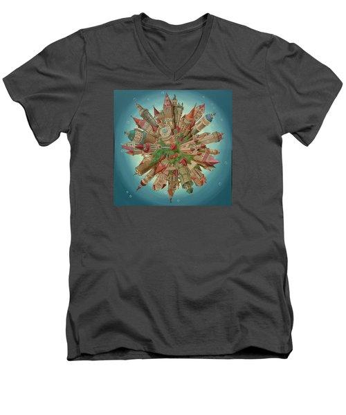 Planetoid Men's V-Neck T-Shirt