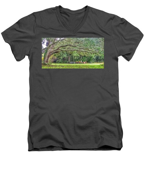 Plant It And The House Will Appear Men's V-Neck T-Shirt