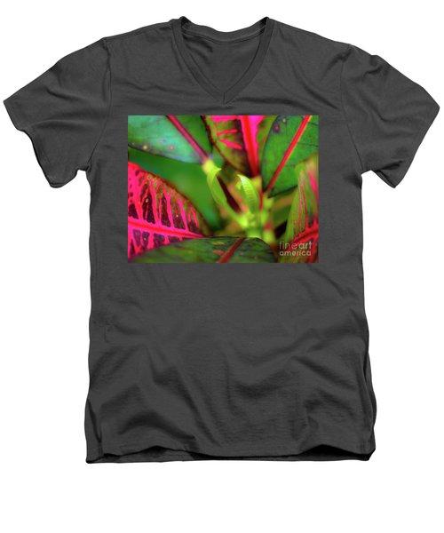 Plants In Hawaii Men's V-Neck T-Shirt