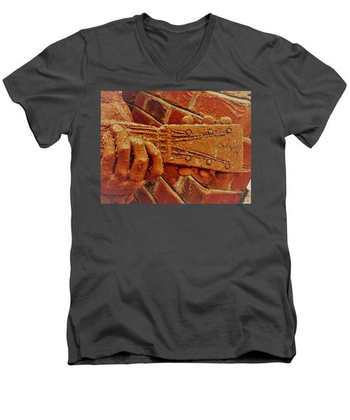 Play It Men's V-Neck T-Shirt