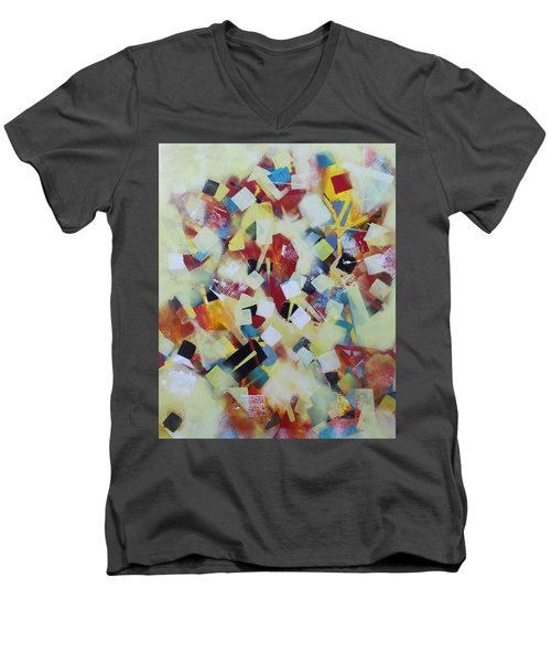 Play Time Men's V-Neck T-Shirt